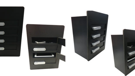 lockable Mobile phone charging station