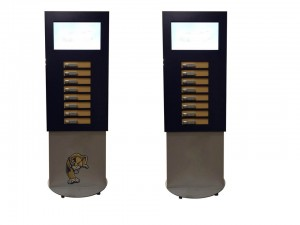 Lockable Mobile Phone Charging Station with LCD