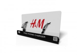H&M M8 Mobile phone charging station| M8 Mobile phone charging kiosk