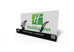Holiday_Inn M8 Mobile phone charging station| M8 Mobile phone charging kiosk