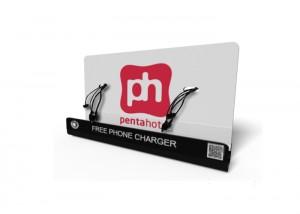 Penta_hotel M8 Mobile phone charging kiosk