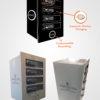 4 locker Wireless Mobile phone charging station